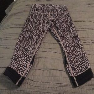 Cute polka dot lululemon pants